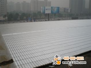 湖南仁孚奔驰4s店彩钢板屋面防水工程