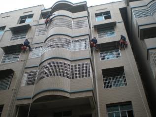 湘江世纪城外墙防水工程