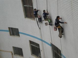 瓷片外墙渗漏水解决方案