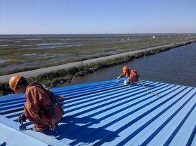 长沙彩钢板屋面防水